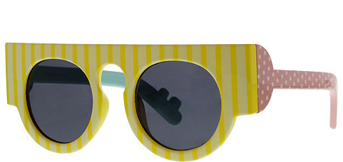 Le Specs Craig & Karl Houdini Gloss Yellow Stripe