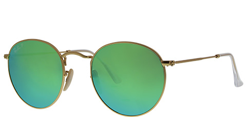 Ray-Ban Round Metal Polarized RB3447-112P9