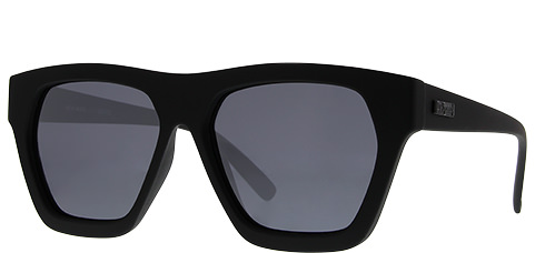 Le Specs New Wave-Black Rubber