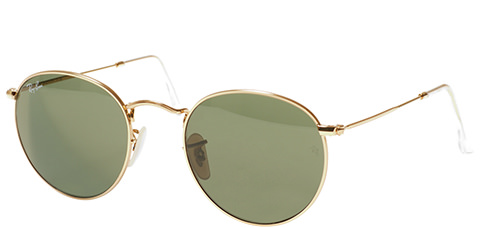 Ray-Ban Round Metal RB3447-001 50